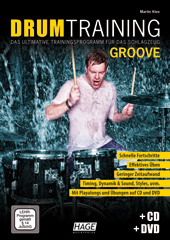 Drum Training Groove (with CD and DVD)