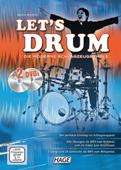Let's Drum (with 2 DVDs)