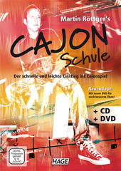 Cajon Schule (with CD + DVD)