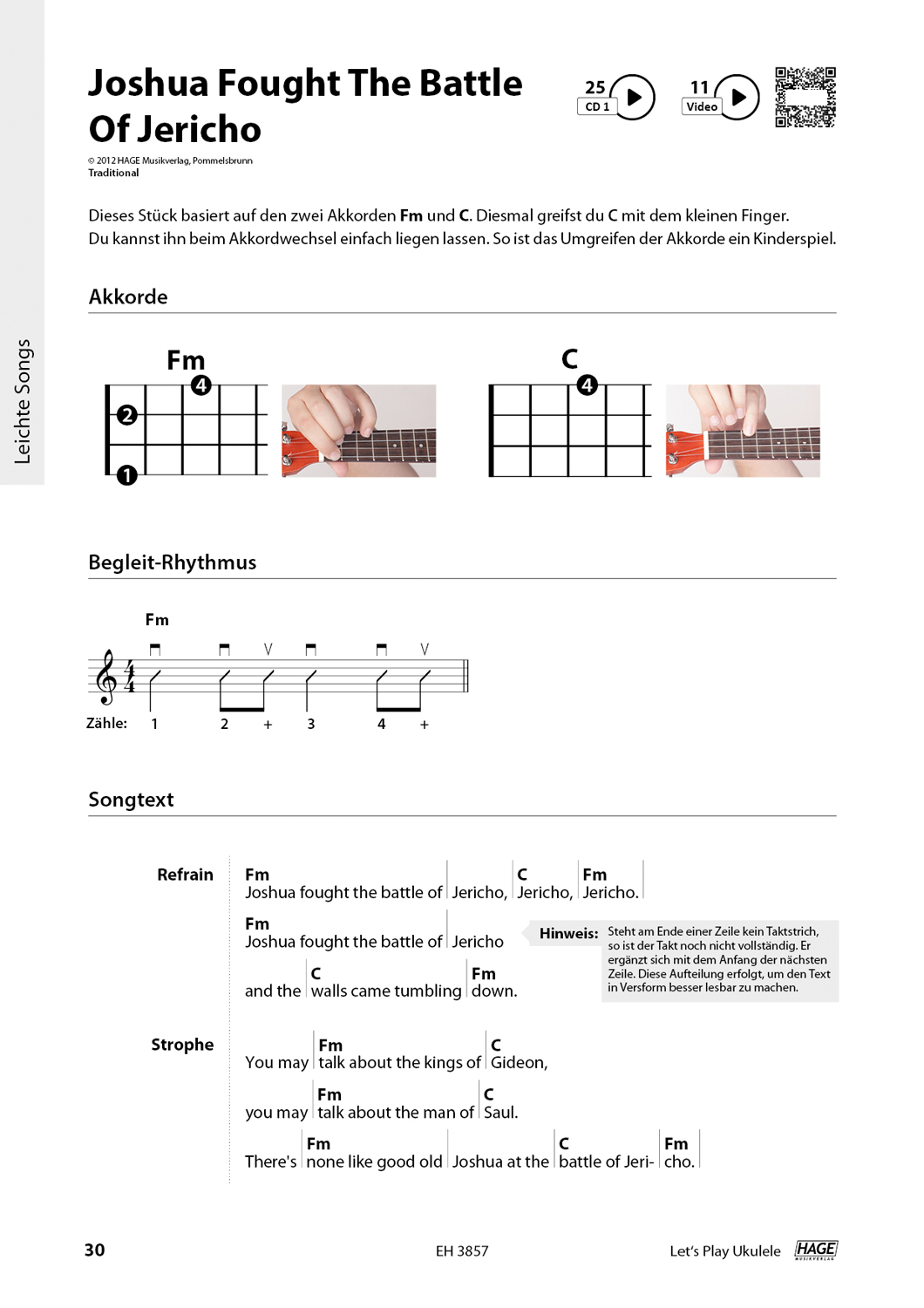 Let's Play Ukulele (with 2 CDs) Pages 7
