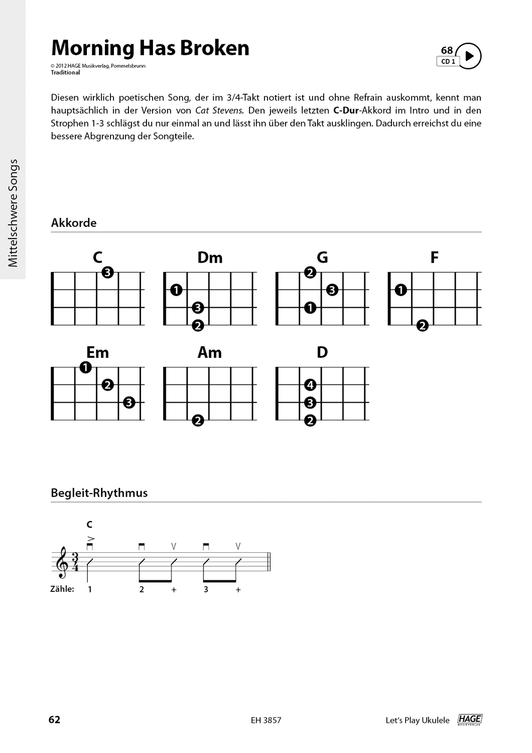 Let's Play Ukulele (with 2 CDs) Pages 8