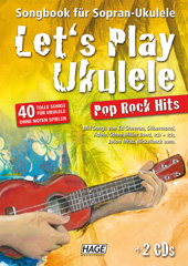 Let's Play Ukulele Pop Rock Hits (mit 2 CDs)