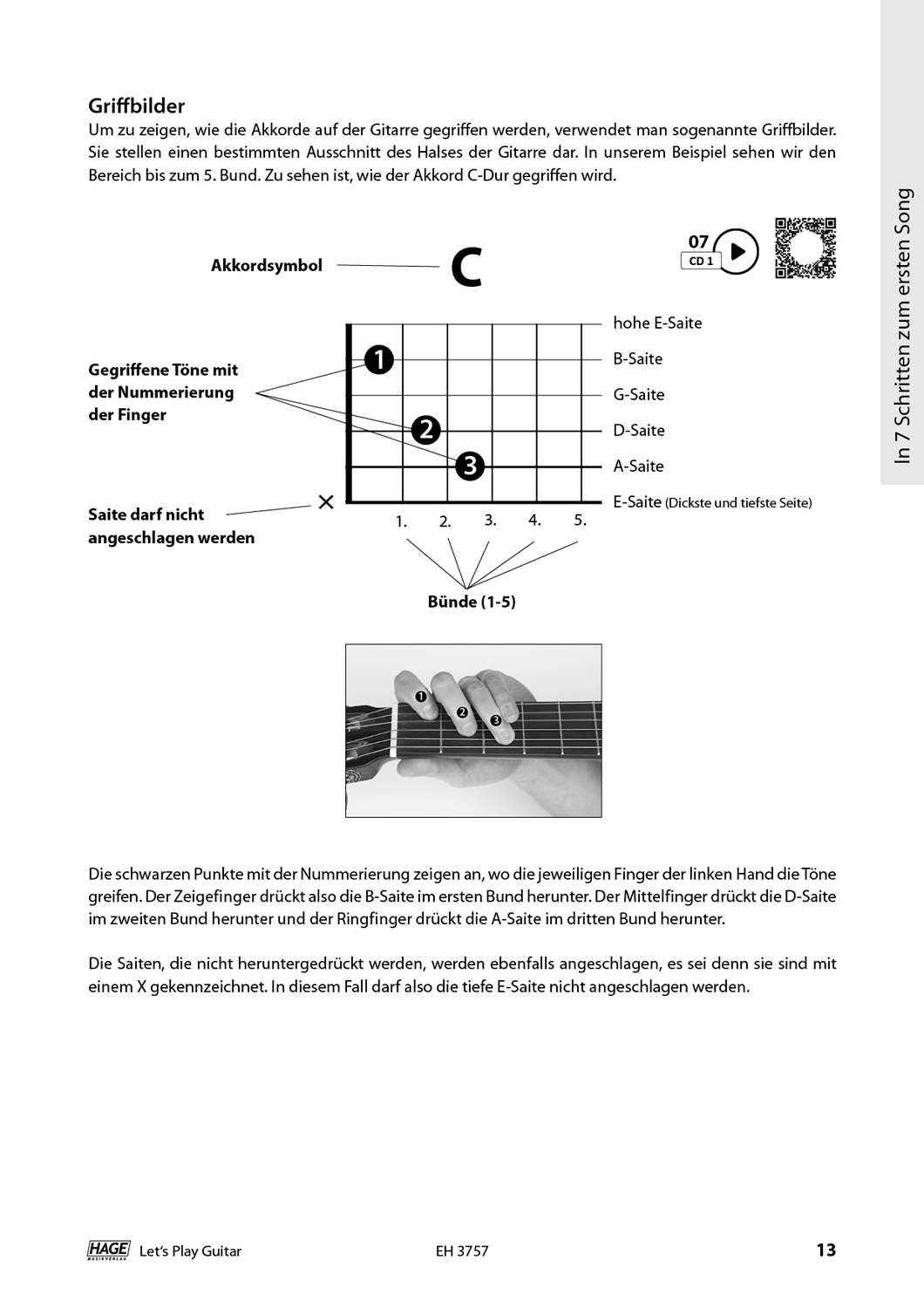 Let's Play Guitar Volume 1 (with 2 CDs and QR Codes) Pages 7