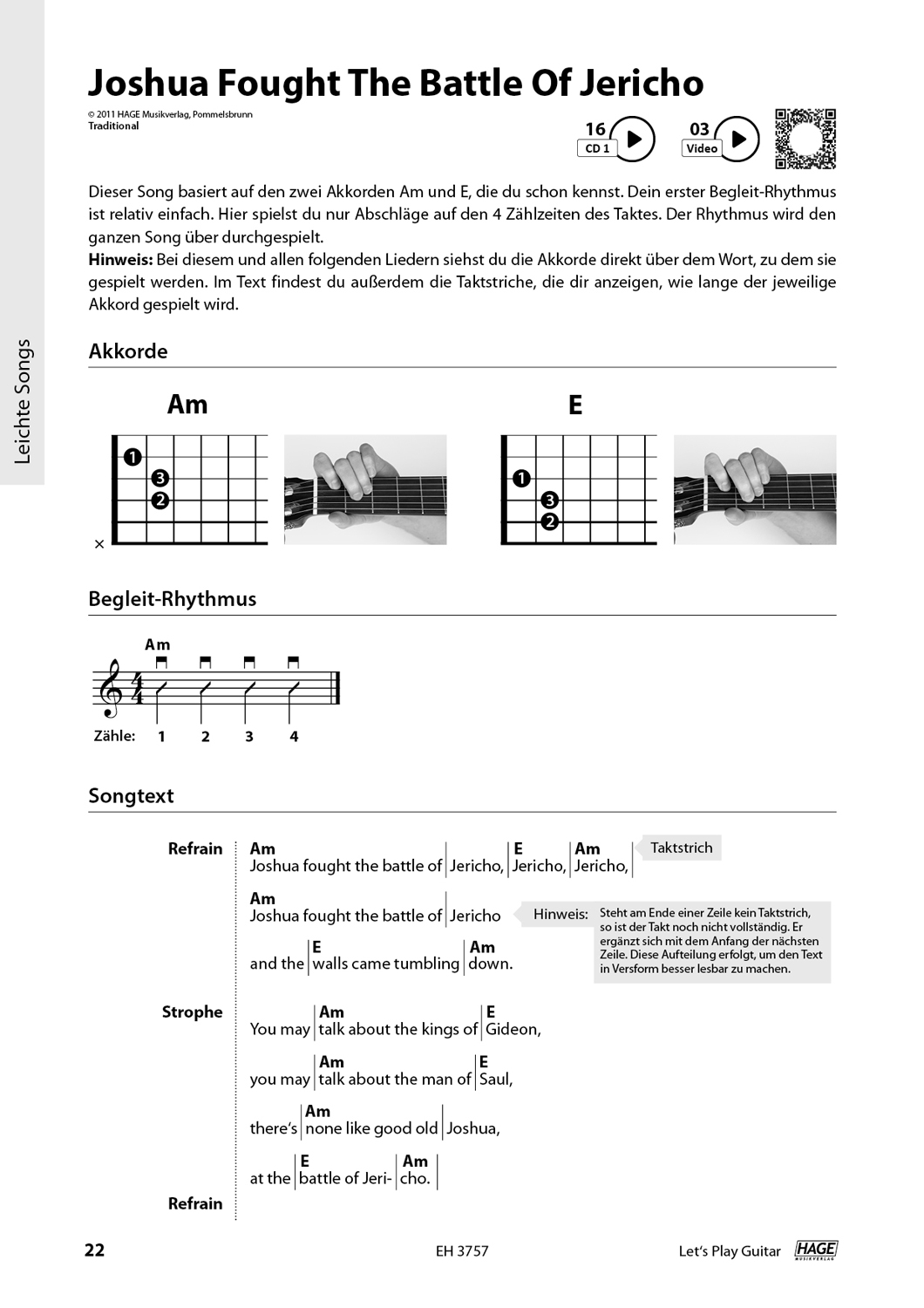 Let's Play Guitar Volume 1 (with 2 CDs and QR Codes) Pages 8
