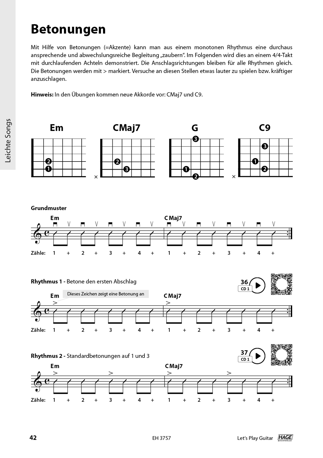 Let's Play Guitar Volume 1 (with 2 CDs and QR Codes) Pages 9