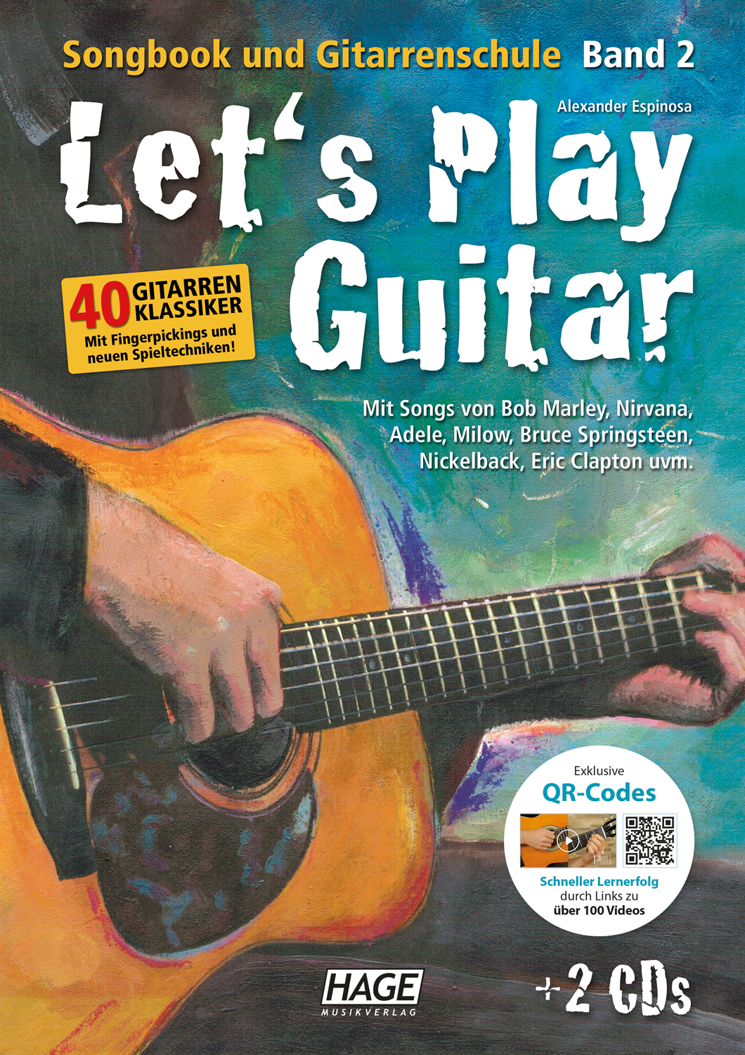 Let's Play Guitar Band 2 (mit 2 CDs und QR-Codes)