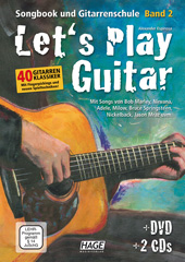 Let's Play Guitar Volume 2 (with 2 CDs and DVD)
