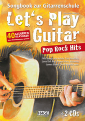 Let's Play Guitar Pop Rock Hits (with 2 CDs)