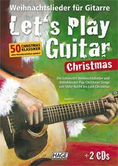 Let's Play Guitar Christmas (mit 2 CDs) Seiten 1