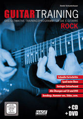 Guitar Training Rock (mit CD und DVD)