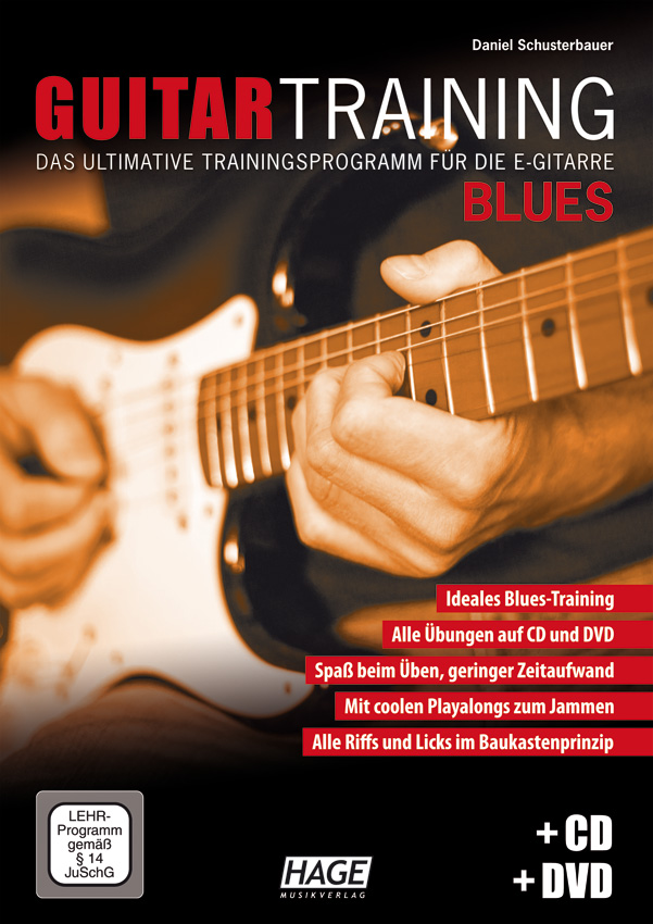 Guitar Training Blues (mit CD und DVD)