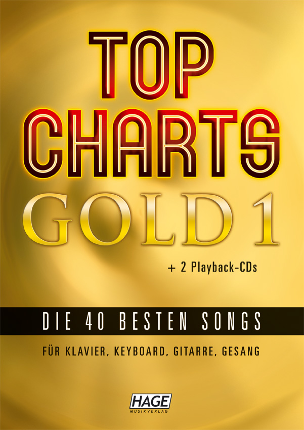 Top Charts Gold 1 (mit 2 CDs + Midifiles, USB-Stick)