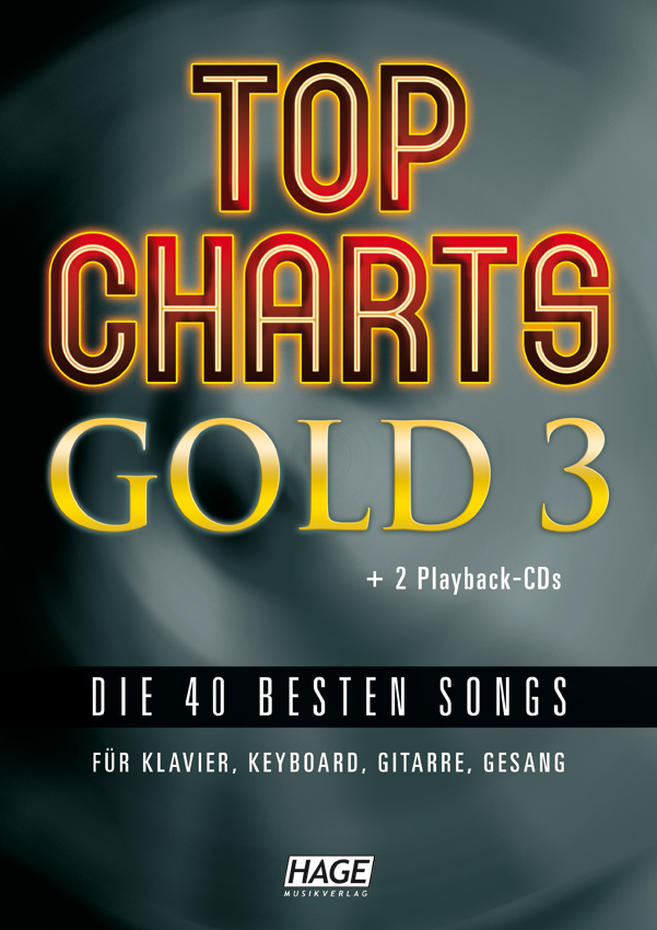 Top Charts Gold 3 (mit 2 CDs + Midifiles, USB-Stick)