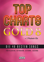 Top Charts Gold 8 (mit 2 CDs)