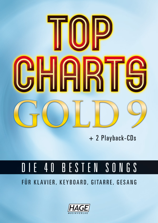 Top Charts Gold 9 (mit 2 CDs + Midifiles, USB-Stick)