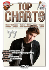 Top Charts 77 (mit CD + Midifiles, USB-Stick)