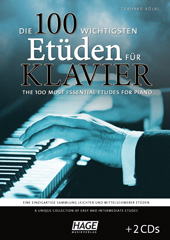 The 100 most essential etudes for piano (with 2 CDs) Pages 1