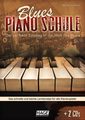 Blues Piano School (with 2 CDs)