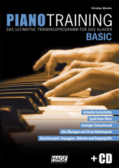 Piano Training Basic (with CD)
