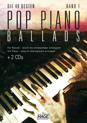 Pop Piano Ballads 1 (mit 2 CDs)