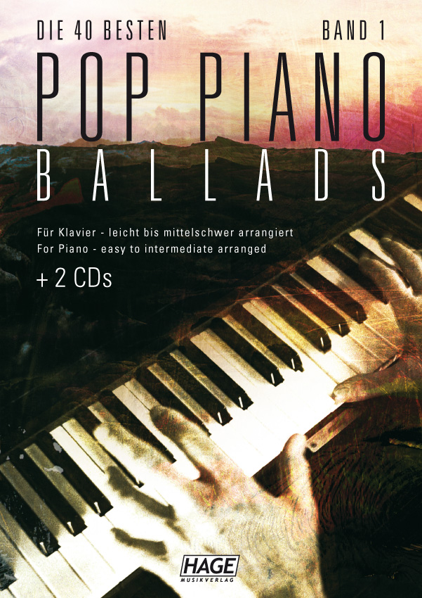 Pop Piano Ballads 1 (mit 2 CDs + Midifiles, USB-Stick)