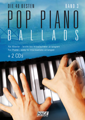 Pop Piano Ballads 3 (with 2 CDs + Midifiles, USB-Stick)