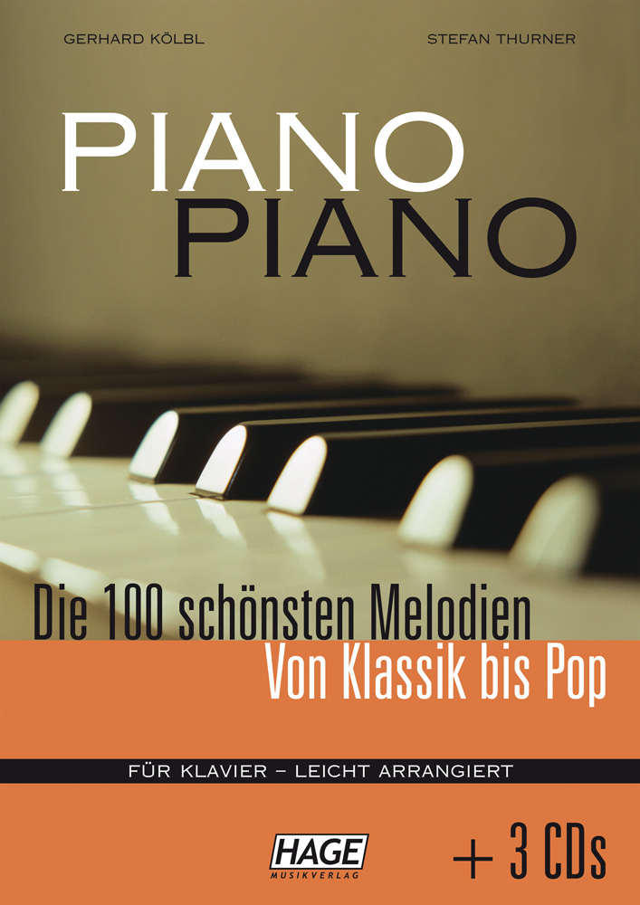 Piano Piano 1 easy (with 3 CDs)