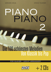 Piano Piano 2 easy (with 2 CDs)