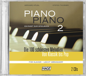 Piano Piano 2 easy CD-Pack (2 CDs)