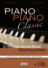 Piano Piano Classic intermediate (with 3 CDs) Pages 1