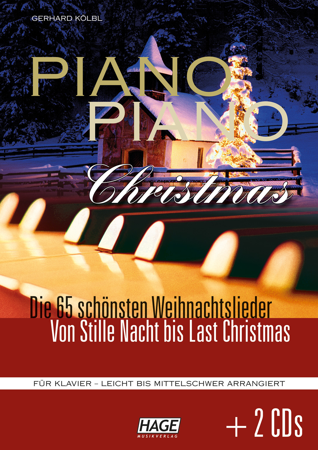 Piano Piano Christmas (with 2 CDs)