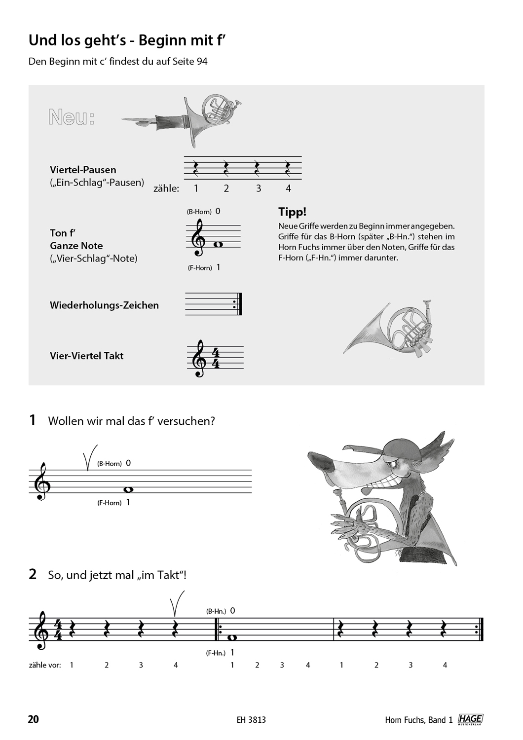 Horn Fuchs Volume 1 (with CD) Pages 7