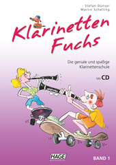 Klarinetten Fuchs Band 1 (mit CD)