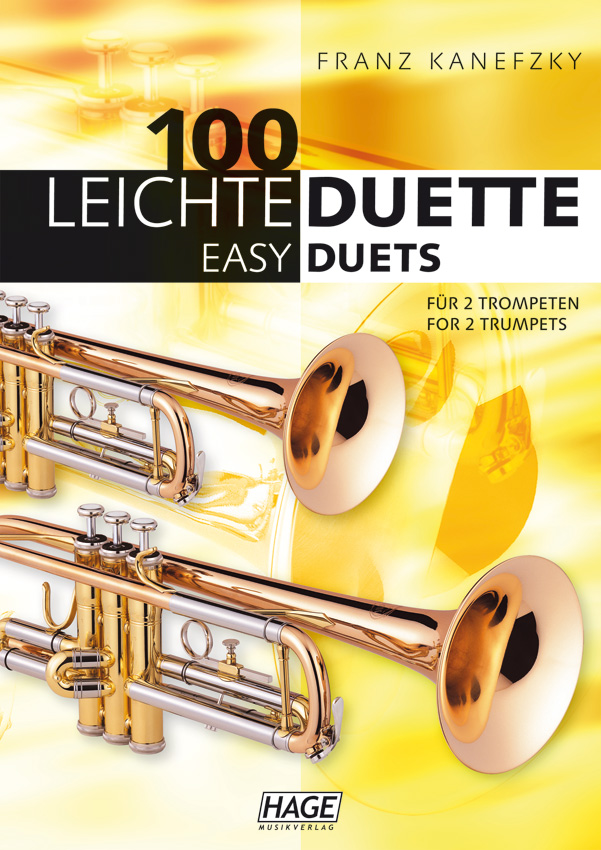 100 Easy duets for 2 trumpets