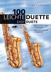 100 Easy Duets for 2 Saxophones