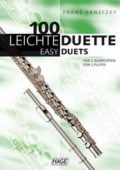 100 Easy duets for 2 transverse flutes
