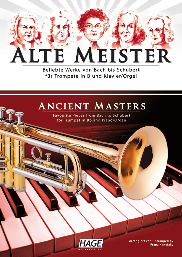 Ancient masters for trumpet in Bb and piano/organ