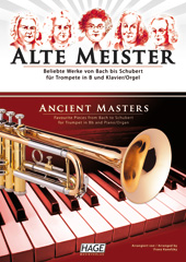 Ancient masters for trumpet in Bb and piano/organ Pages 1