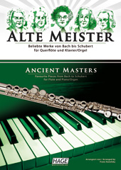 Ancient masters for flute and piano/organ