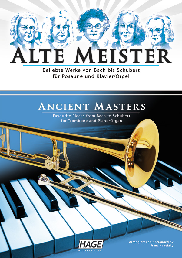 Ancient masters for trombone and piano/organ