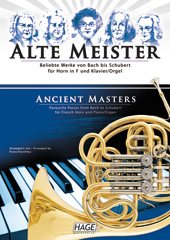 Ancient masters for horn in F and piano/organ