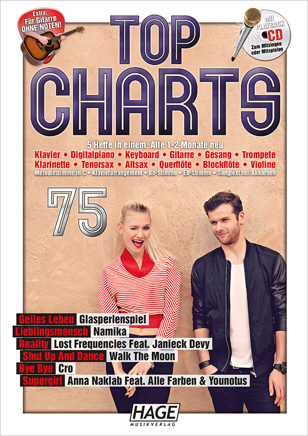 Top Charts 75 (mit CD)