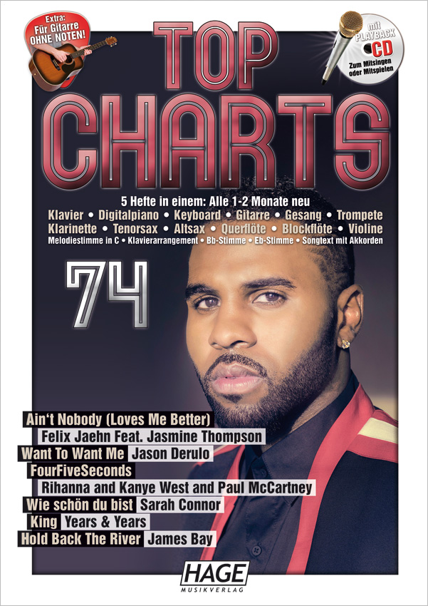 Top Charts 74 (mit CD)