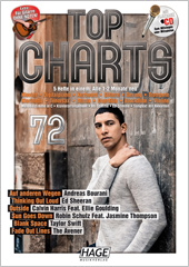 Top Charts 72 (mit CD + Midifiles, USB-Stick)