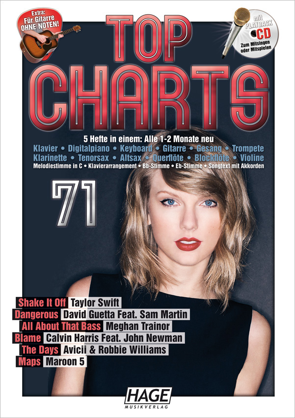 Top Charts 71 (mit CD)