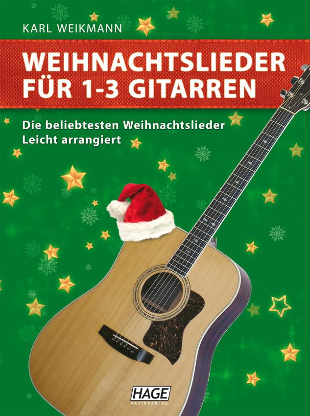 weihnachtslieder f r 1 3 gitarren hage musikverlag. Black Bedroom Furniture Sets. Home Design Ideas
