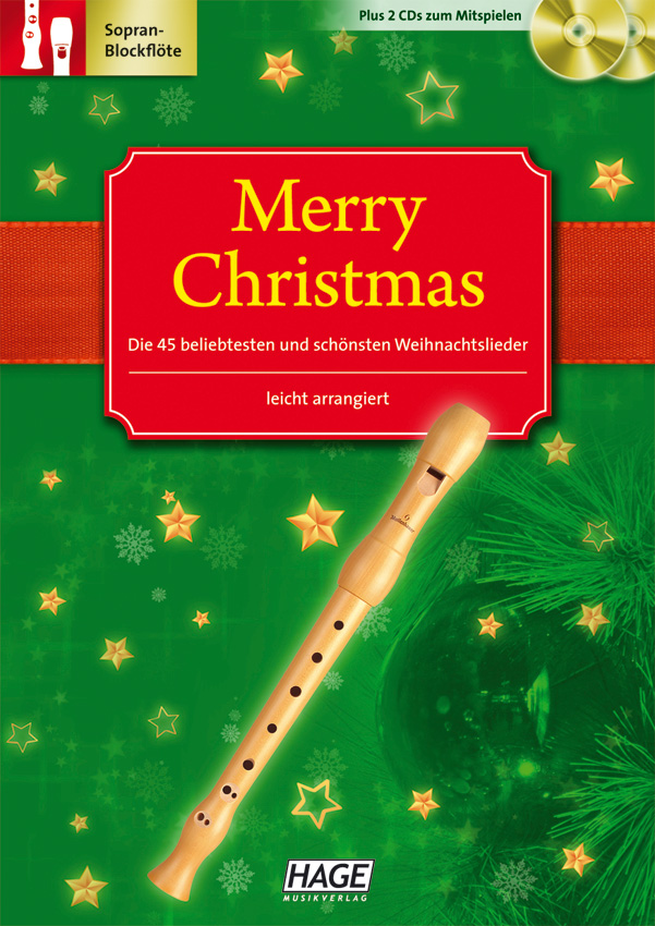 Merry Christmas for C-instruments (recorder)