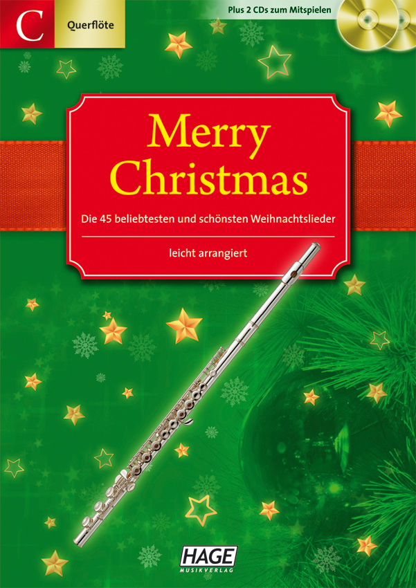 Merry Christmas for C-instruments (flute, oboe)