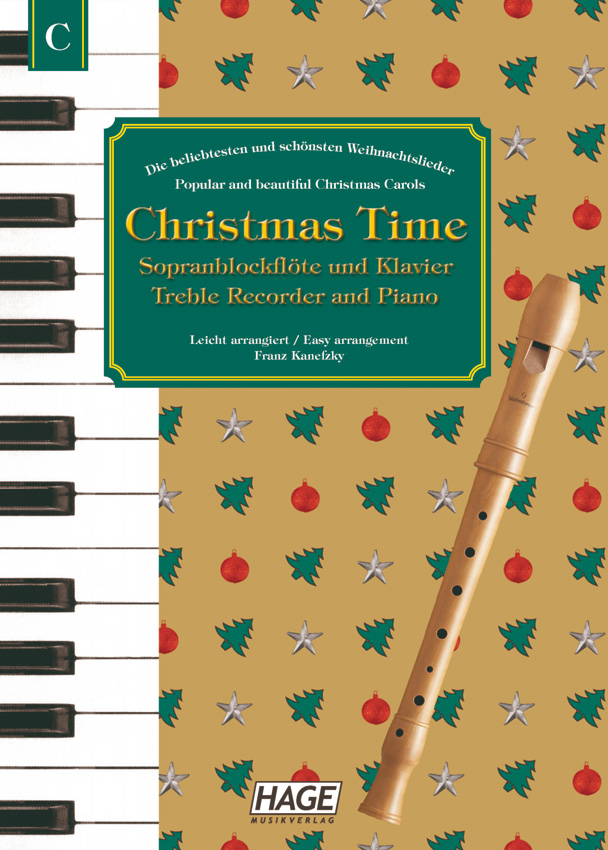 Christmas Time for recorder and piano