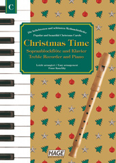 Christmas Time for recorder and piano Pages 1